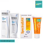 Physiogel Daily Moisture Therapy Cream 75 ml. + SpectraBAN SPF50+ 20 g.