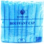 หมวกตัวหนอน/หมวกคลุมผม แบบยางยืด/หมวกlab/หมวกที่ใช้ในห้องปฎิบัติการ บรรจุ 50 ชิ้น/แพ็ค [ สีฟ้า] (Disposable Medical Cap/Bouffant Cap)หมวกตัวหนอน