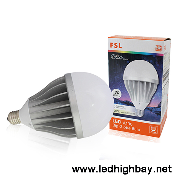 หลอดไฟไฮเบย์ LED FSL 30w (Warmwhite)