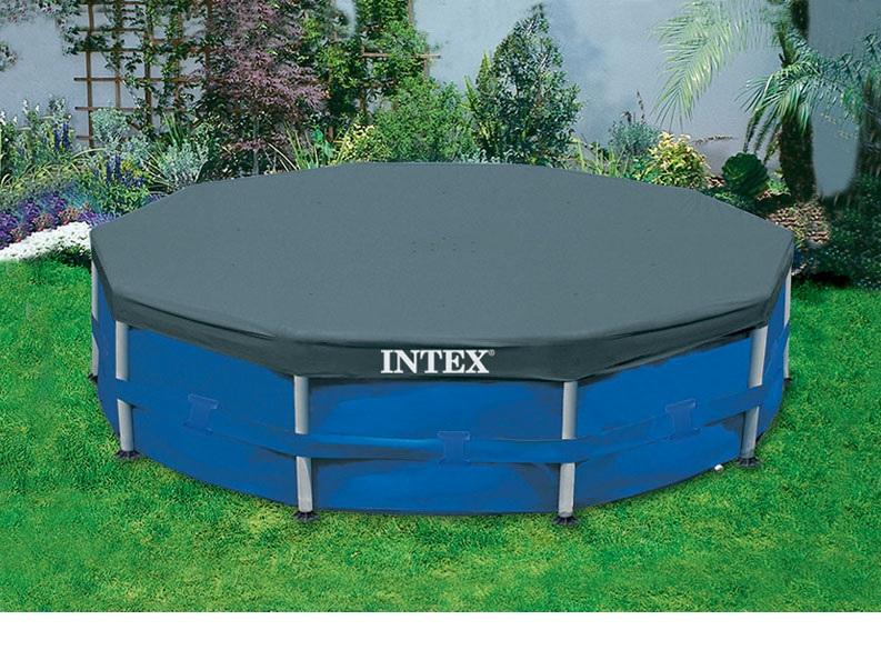 INTEX ผ้าคลุมสระเมทัลเฟรม 15 ฟต (457 ซม.)