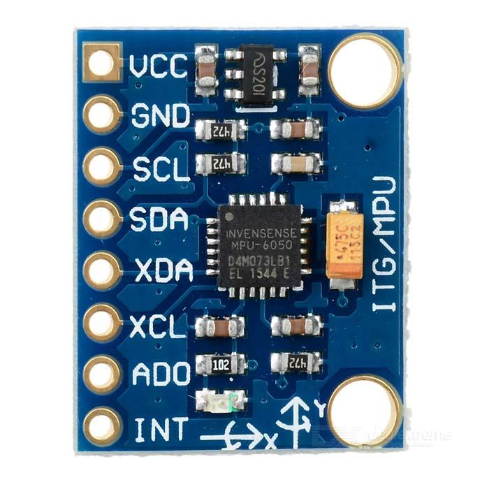 3-axis Accelerometer/Gyro Module (MPU6050)
