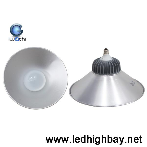 โคมไฮเบย์ LED 80w รุ่นแยกฝา ยี่ห้อ IWACHI (แสงส้ม)