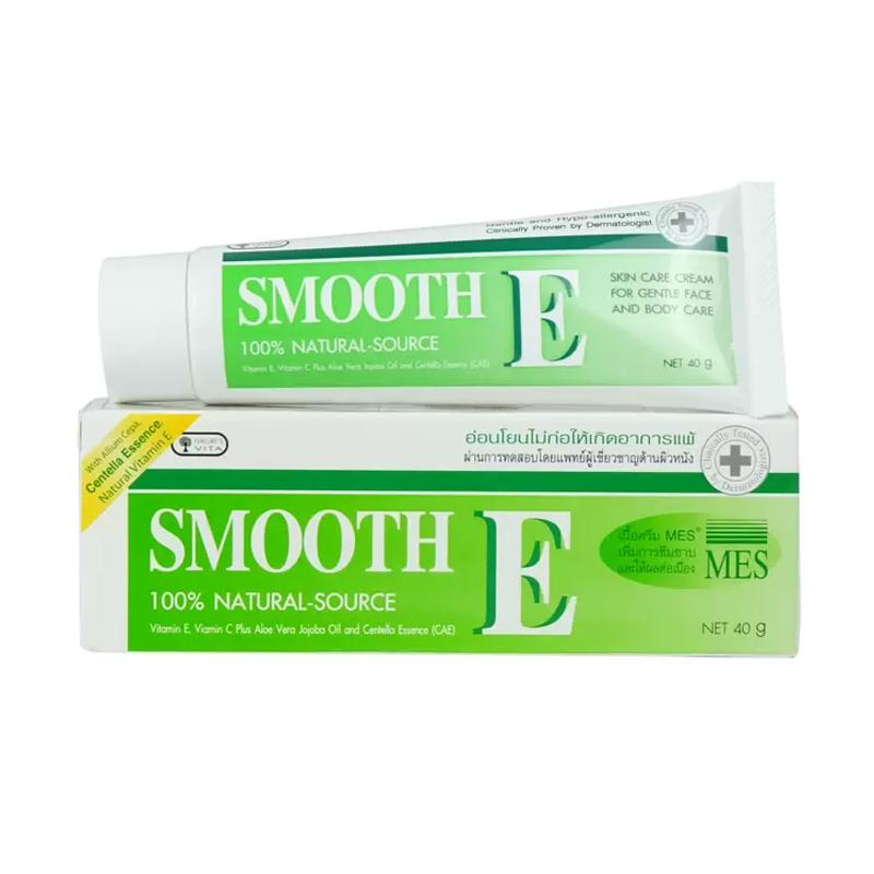 Smooth E (สมูท อี) ครีมลดริ้วรอย ขนาด 40 กรัม