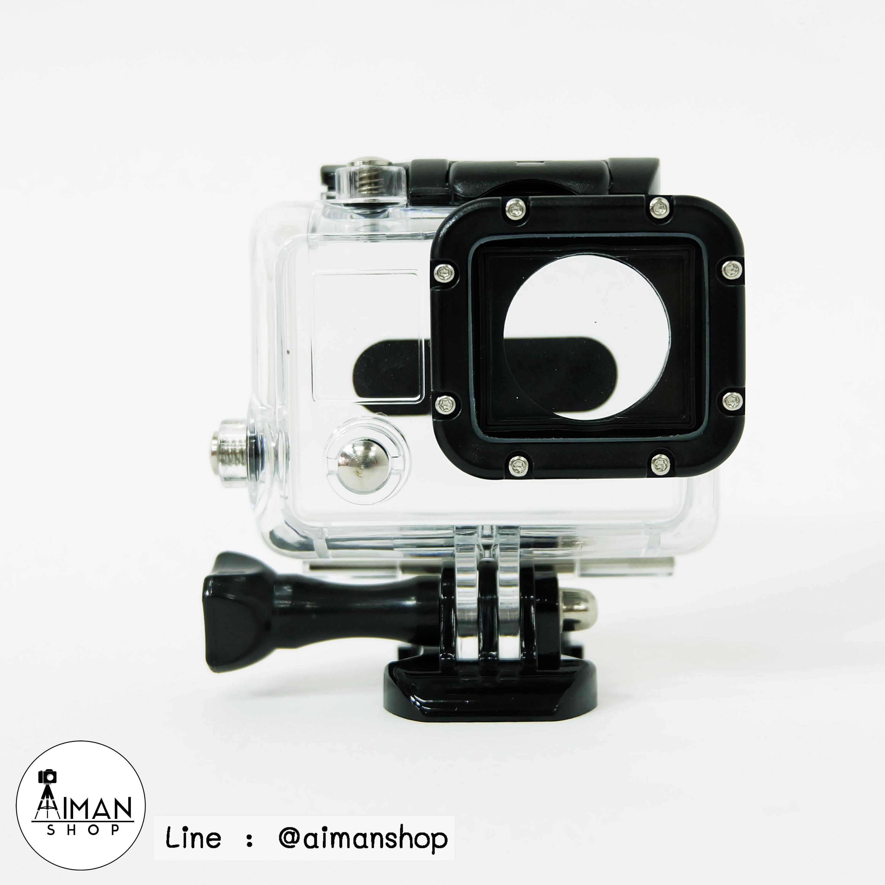 เคส GoPro4 (ใส)