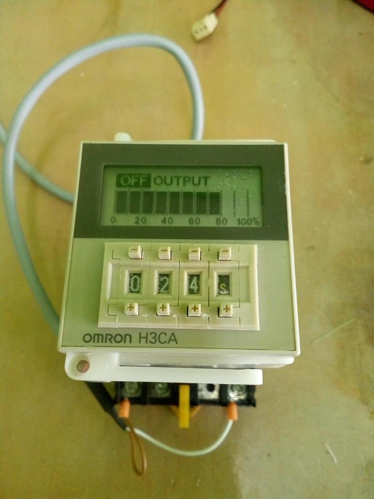 Omron Timer H3CA สินค้ามือ 2 ทดสอบแล้ว