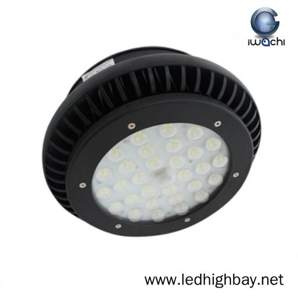 โคมไฮเบย์ LED 100w รุ่นมีพัดลมระบายความร้อน ยี่ห้อ Iwachi (แสงขาว)
