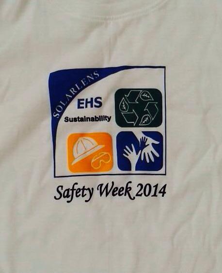 เสื้อคอกลม Safety Week 2014