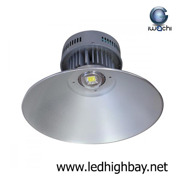 โคมไฮเบย์ LED 100w รุ่นมีพัดลมระบายความร้อน ยี่ห้อ Iwachi (แสงส้ม)