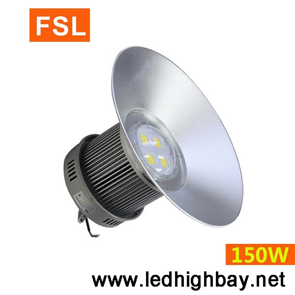 โคมไฮเบย์ LED FSL 150w (แสงสีขาว)