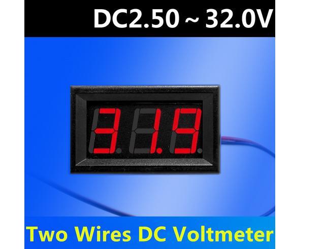 DC 2.5 - 32V Meter