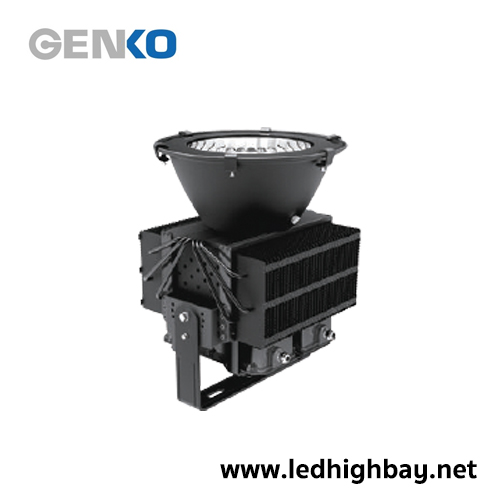 โคมไฮเบย์ LED รุ่น High Mast Monster H400 400W (แสงส้ม)