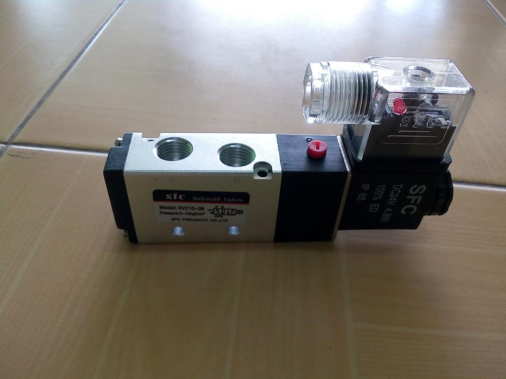 โซลินอยด์วาล์ว SFC 4V210-08 สินค้าใหม่