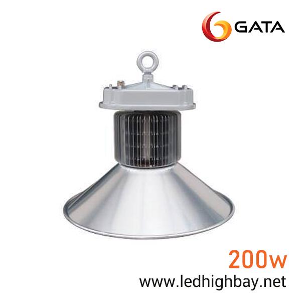 โคมไฮเบย์ LED 200w ยี่ห้อ GATA (แสงขาว)