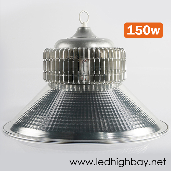 โคมไฮเบย์ LED รุ่น PLUS 150w ยี่ห้อ RICH LED (แสงขาว)