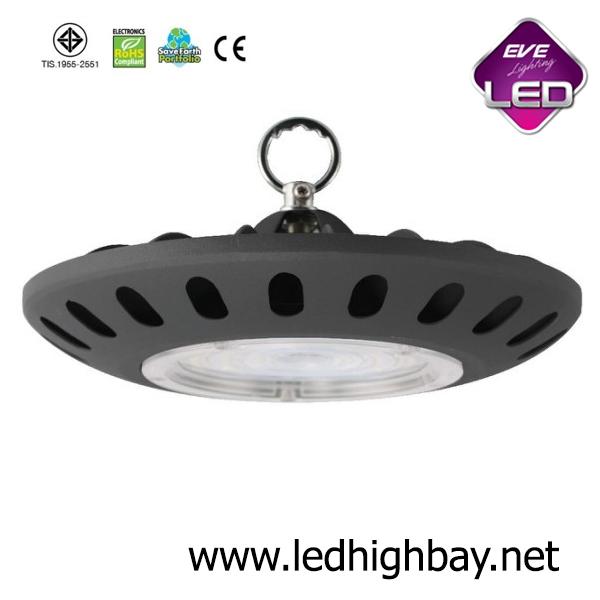 โคมไฮเบย์ LED 200w รุ่น SMD UFO ยี่ห้อ EVE (แสงขาว)