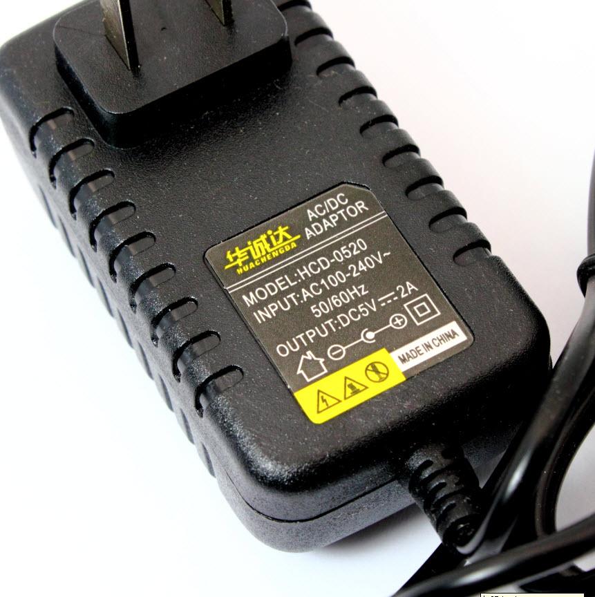 Adapter 5V 2A แหล่งจ่ายไฟ 5V 2A