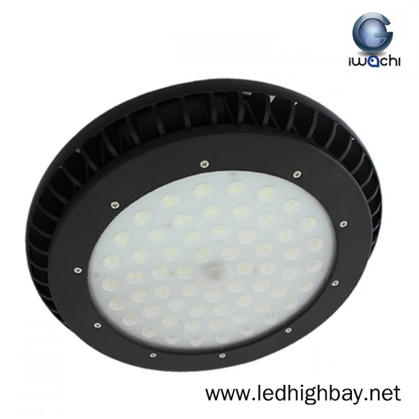 โคมไฮเบย์ LED 200w รุ่นมีพัดลมระบายความร้อน ยี่ห้อ Iwachi (แสงส้ม)