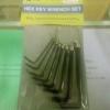 ชุดประแจ L (6 เหลี่ยม)