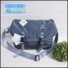 กระเป๋าสะพายข้าง Anello logo print messenger bag-สีเทา-