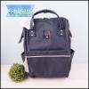 กระเป๋าเป้สะพายหลัง Anello CANVAS RUCKSACK Classic-สีกรม-