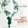 เสื้อคอกลม เสื้อยืด ช่อง 3 ทีวีรักษ์โลก 360 องศา Save The World Expo 2014