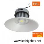โคมไฮเบย์ LED 50w รุ่น HIB ยี่ห้อ FSL (แสงส้ม)