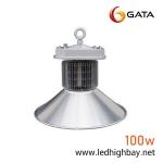 โคมไฮเบย์ LED 100w ยี่ห้อ GATA (แสงส้ม)