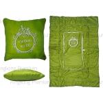 หมอนผ้าห่ม (สีเขียวสั่งผลิต)