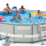 INTEX สระอัลทร้าเฟรม 14 ฟุต (427x107 ซม.) Complete Set