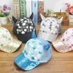 หมวกเด็ก น่ารักๆ รอบศรีษะ 52 ซม. (ปรับได้ 50-54 ซม.)