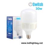 หลอดไฟไฮเบย์ LED 30w รุ่น HIGHWATT ยี่ห้อ Swtich (แสงขาว)