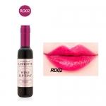 Wine Lip Tint Set ลิปทินท์ขวดไวน์ ดีไซน์หรู สีติดทนนาน RD-02