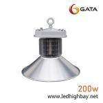 โคมไฮเบย์ LED 200w ยี่ห้อ GATA (แสงส้ม)