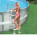 INTEX บันไดสระน้ำแบบถอดได้ – สระสูง132 ซม.