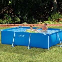 สระว่ายน้ำสำเร็จรูป 10 ฟุต แบบเหลี่ยม