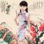ชุดกี่เพ้าสีขาว ลายนกยูง ใส่วันตรุษจีนน่ารักมากๆค่ะ thumbnail 1