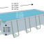 INTEX สระสี่เหลี่ยมอัลทร้าเฟรม 24 ฟุต ระบบน้ำเกลือ-ทราย thumbnail 6