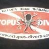 เสื้อคอกลม Octopus Diver Koh Lanta Kabi