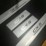 กาบบันไดสแตนเลส NEW MAZDA CX-5 V.2 (4ชิ้น)