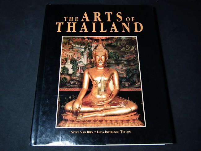 The Art of Thailand by steve Van Beek –Luca Invernizzi Tettoni ปกแข็ง 248 หน้า ปี 2531