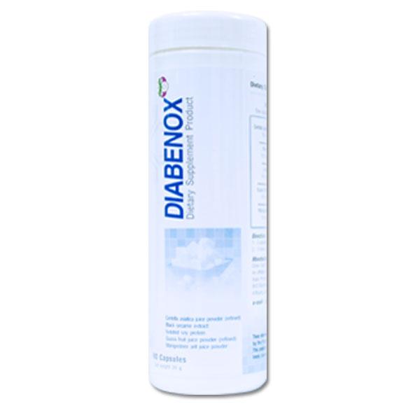 BIM100 บิม100 สูตร ไดอาบีน็อกซ์ Diabenox สูตรสีฟ้า (เบาหวาน น้ำตาลในเลือดสูง)