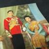 ภาพพิมพ์ 3 มิติ ในหลวง เเละ พระราชินี (เก่า) ขนาดโปสการ์ด พิมพ์ที่ญี่ปุ่น