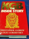 KGB THE INSIDE STORY BY CHRISTOPHER ANDREW & OLEG GORDIEVSKY ปกแข็ง ปี 1990