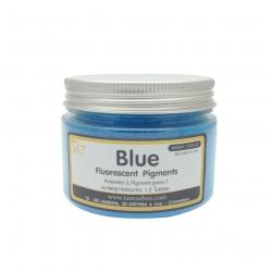 สีผงสะท้อนแสง สีชมพู น้ำเงิน : Blue Fluorescent Pigment