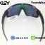 แว่นตาปั่นจักรยาน Oakley Jawbreaker [สีดำ-ขอบเขียว] thumbnail 5