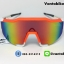 แว่นตาปั่นจักรยาน SPEEDCRAFT 100% [สีส้ม-ขาว] thumbnail 4