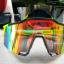 แว่นตาปั่นจักรยาน SPEEDCRAFT 100% [สีเขียว-ดำ] thumbnail 9