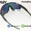 แว่นตาปั่นจักรยาน Oakley Jawbreaker [สีดำ-ขอบเขียว] thumbnail 4